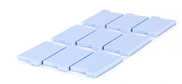 thermally conductive silicone gap pad materials